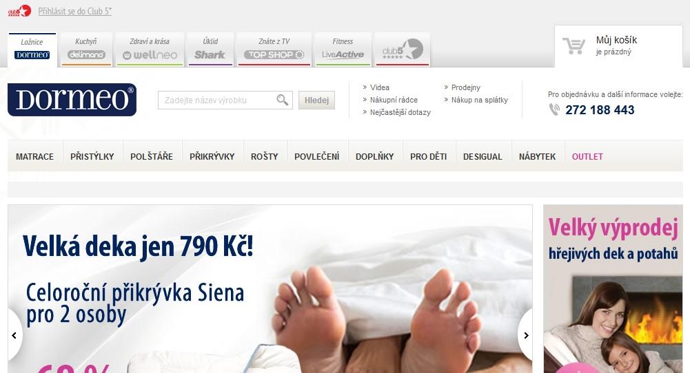 dormeo.cz