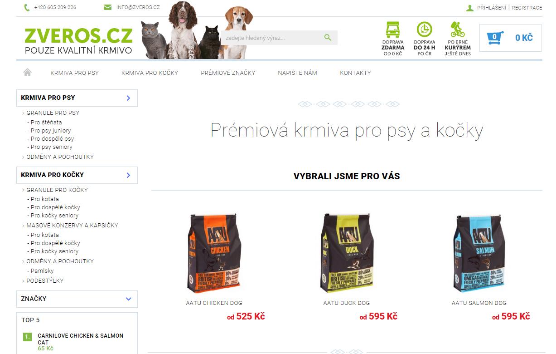 Zveros.cz | Seznam obchodů recenze, slevy, slevové kupóny